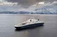 """Meet the """"MF Boknafjord"""": World's Largest LNG-Powered Ferry Named"""