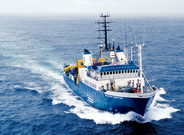southern surveyor research ship nautilus minerals