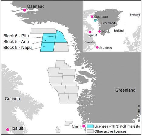greenland oil exploration drilling statoil