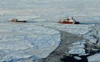 US Coast Guard Icebreaker Escorts Russian Tanker Through Arctic Ice [IMAGES]