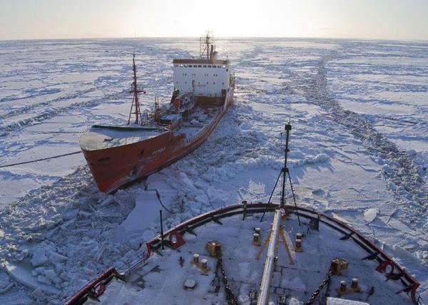 coast guard icebreaker nome arctic ice ships escort