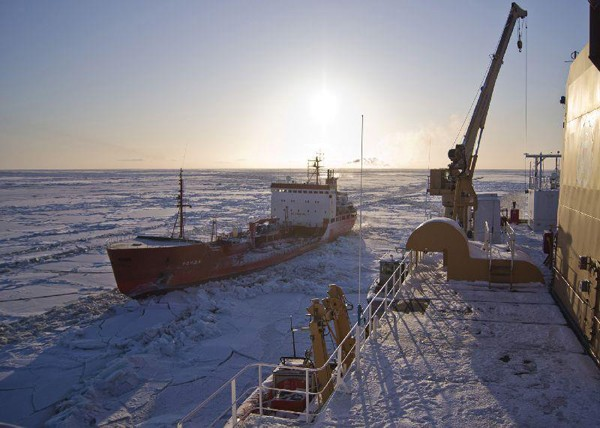 russian ship renda coast guard icebreaker arctic
