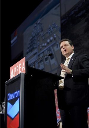 Chevron Australia Managing Director Roy Krzywosinski