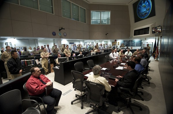 office of naval intelligence watch floor ONI