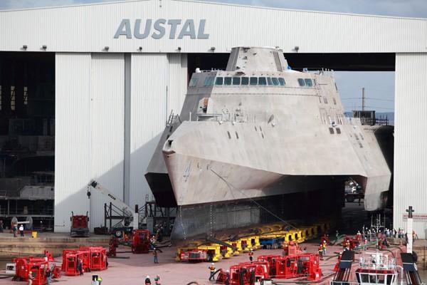 LCS4 shipyard naval shipbuilding coronado