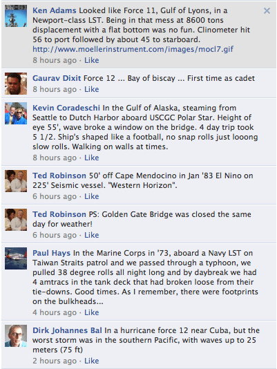 facebook chat gcaptain worst sea state