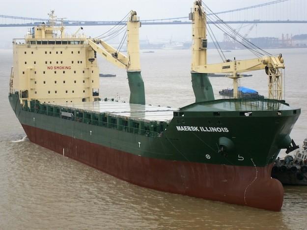 maersk illinois Rickmers-Linie