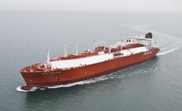 LNG carrier Ribera del Duero Knutsen ice-classed