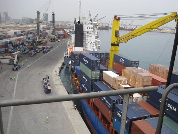 Luanda Container Terminal Angola