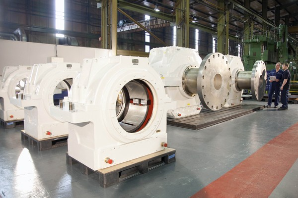 Rolls Royce Marine thrust blocks line shaft bearings