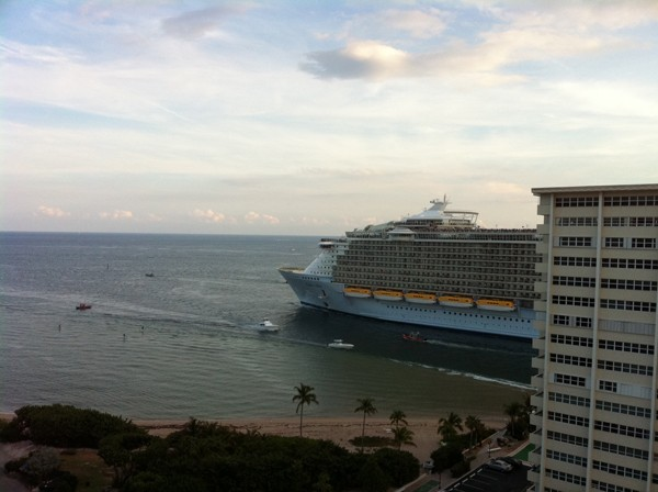 Oasis of the Seas Royal Caribbean Port Everglades