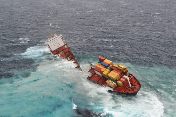 mv rena astrolabe reef broke apart