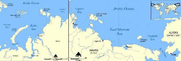 siberian arctic russia