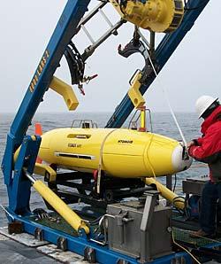 remus 6000 auv autonomous underwater vehicle hydroid