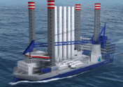 Cosco Shipyard to Construct Specialized Wind Turbine Installation Jack-Up for Denmark's A2SEA
