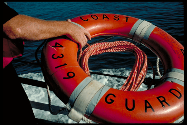 uscg ship life ring