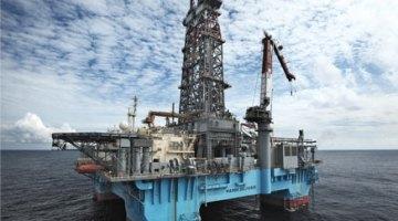 Maersk deliverer semi-submersible drilling rig