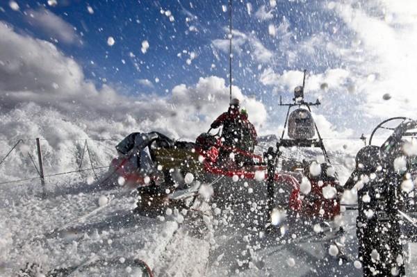 Groupama sailing volvo ocean race southern ocean