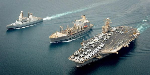 HMS Daring USS Abraham Lincoln