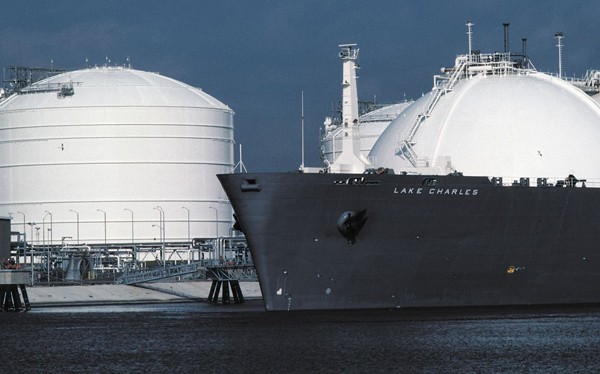 Lake charles liquefaction project lng