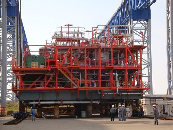 Hamworthy regas module
