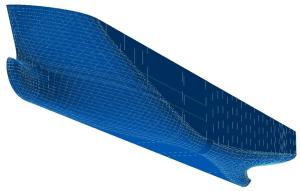 NAPA Software Hull Surface And Reference Grid