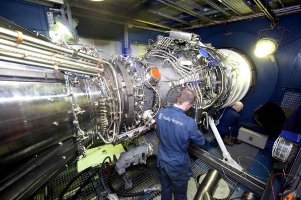 mt30 engine test rolls royce