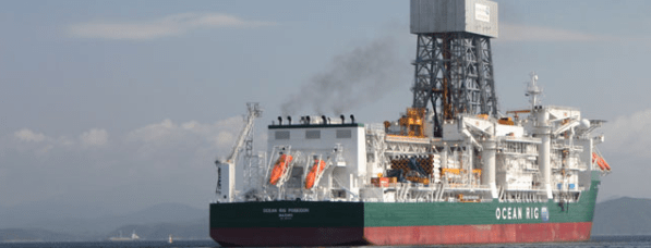Ocean Rig Drillship Poseidon