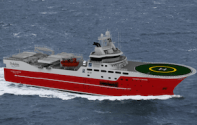 Kleven Maritime Commissioned to Build Second Seismic Vessel for Sanco