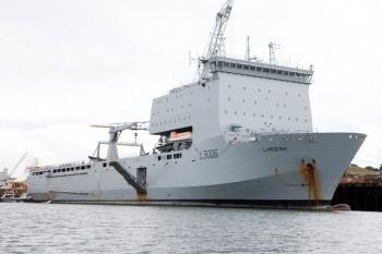 HMAS -Choules ex RFA Largs Bay