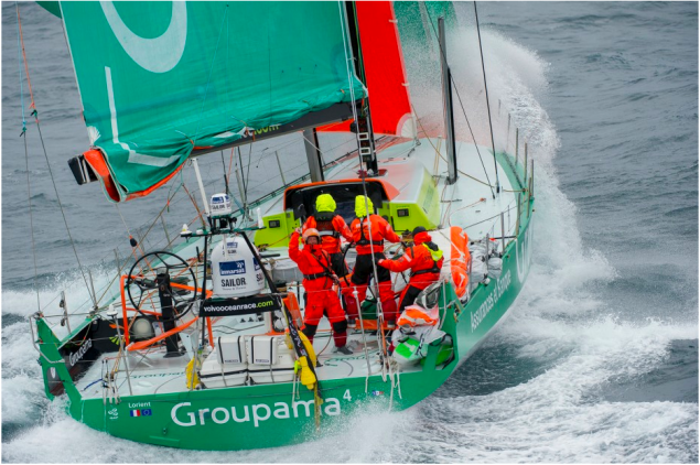 groupama volvo ocean race