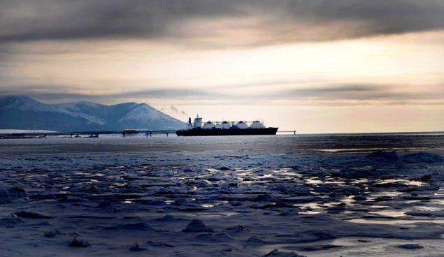 Sakhalin1 LNG carrier shell