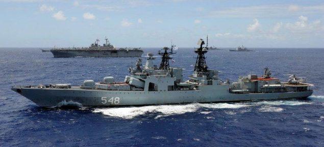 RFS Admiral panteleyev (BPK 548) rimpac