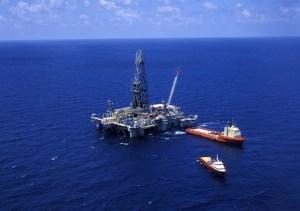 Nexen's Aspen platform in the Golf of Mexico. Photo courtesy of Nexen Inc.