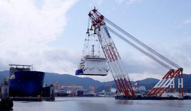 Titanium Explorer Dragonquest Vantage drilling dsme shipyard