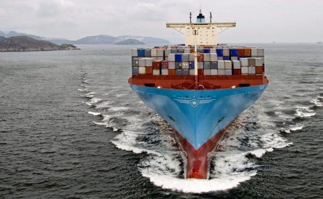 maersk line containership
