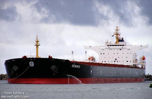 mv semirio capesize bulk carrier