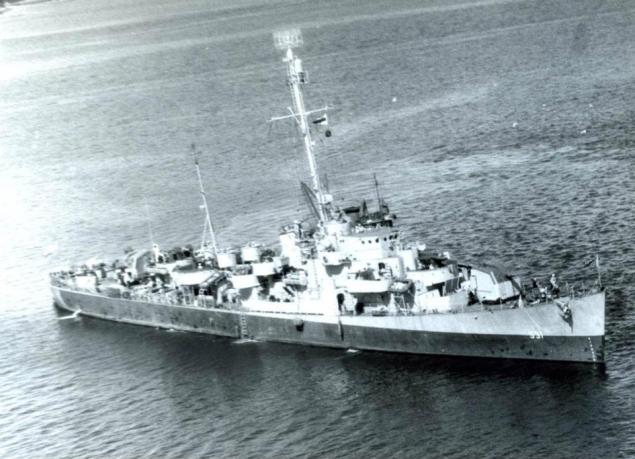 USS Edward H. Allen us navy warship andrea doria