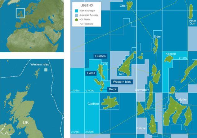 western isles dana petroleum