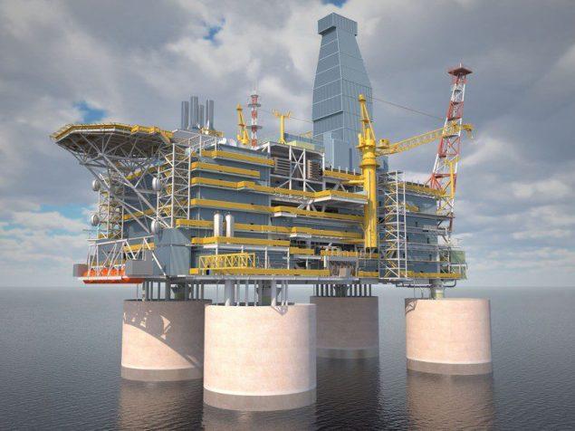 berkut offshore platform