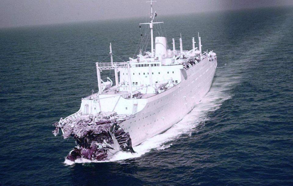 56 Years Ago Today Andrea Doria Sinks Off Nantucket In