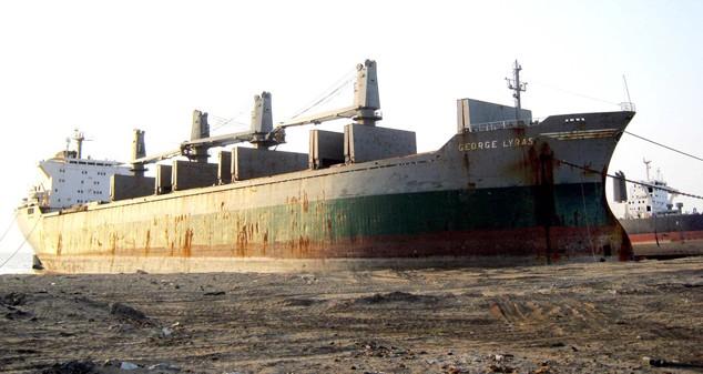 shutterstock shipbreaking scrap