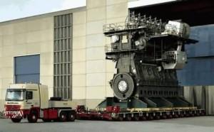 Wartsila-Sulzer RTA96-C turbocharged two-stroke diesel engine