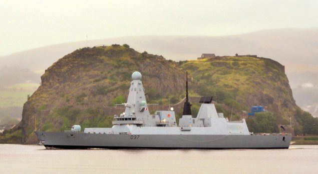 duncan type 45 destroyer bae systems