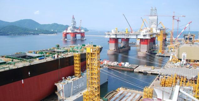 DSME daewoo shipbuilding south korea shipyard