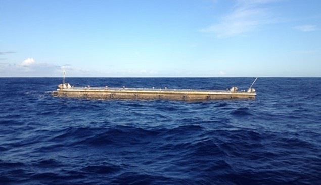 japanese tsunami debris barge