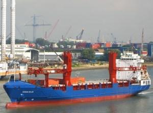 M/V ocean atlas - American Heavylift Ship