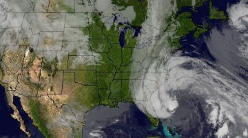 Superstorm Sandy, pictured on Oct. 27, 2012. Image: NASA