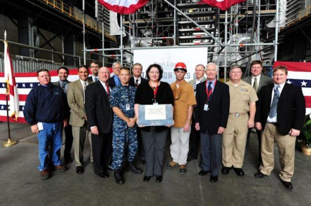 austal shipbuilding lcs 6 keel laying