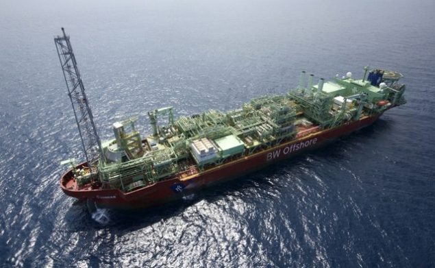cascade chinook petrobras fpso gulf of mexico offshore production